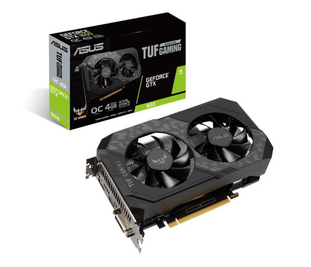 ASUS GeForce GTX 1650 TUF Gaming OC 4GB GDDR6  - 564177 - zdjęcie