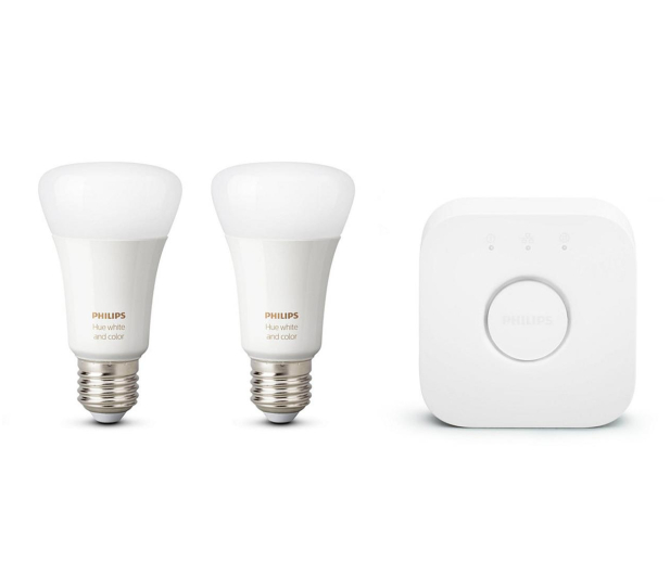 Philips Hue White and Color Ambiance (2szt. E27+Mostek) - 567503 - zdjęcie 2