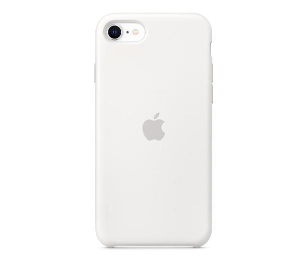Apple Silicone Case do iPhone 7/8/SE biały - 567456 - zdjęcie