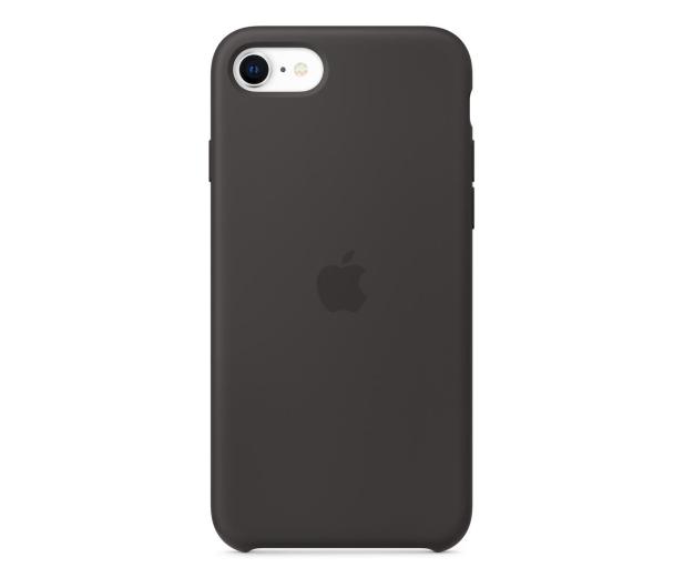 Apple Silicone Case do iPhone 7/8/SE czarny - 567454 - zdjęcie