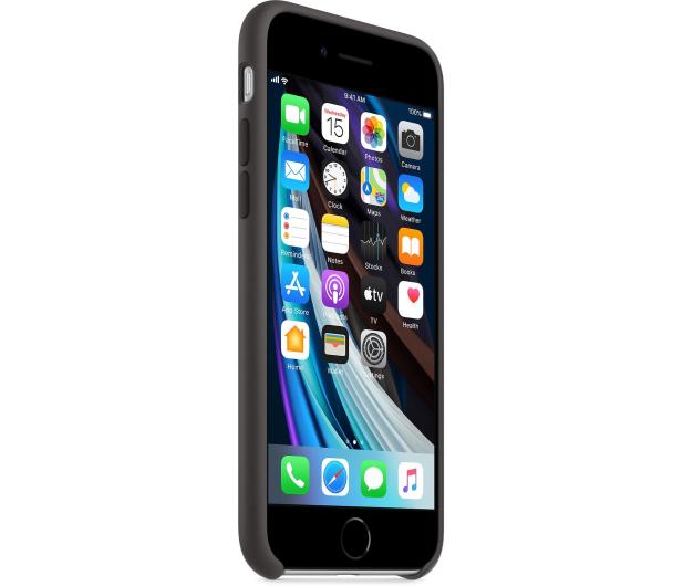 Apple Silicone Case do iPhone 7/8/SE czarny - 567454 - zdjęcie 3