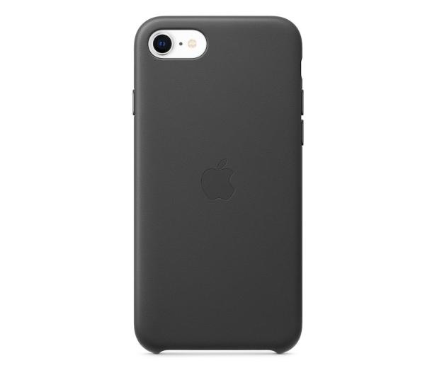 Apple Leather Case do iPhone 7/8/SE czarny - 567459 - zdjęcie