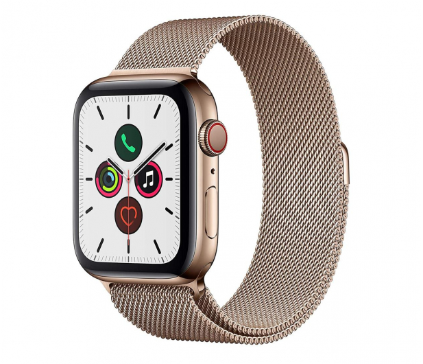 Apple Watch 5 44/Gold Steel/Gold Loop LTE - 564119 - zdjęcie