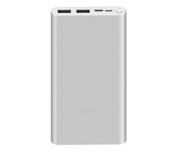 Xiaomi Power Bank Xiaomi Mi 10000 mah (18W, srebrny) - 550913 - zdjęcie
