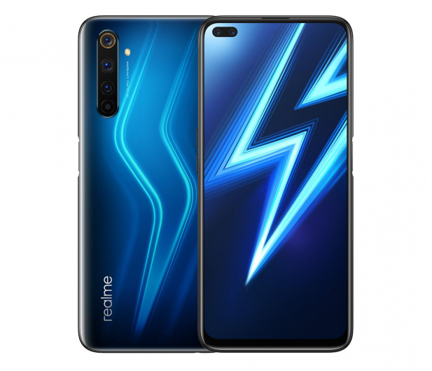 realme 6 Pro 6+128GB Lightning Blue - 602300 - zdjęcie