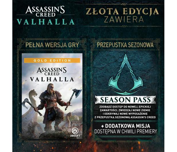 Xbox Assassin's Creed Valhalla Gold Edition - 564051 - zdjęcie 3