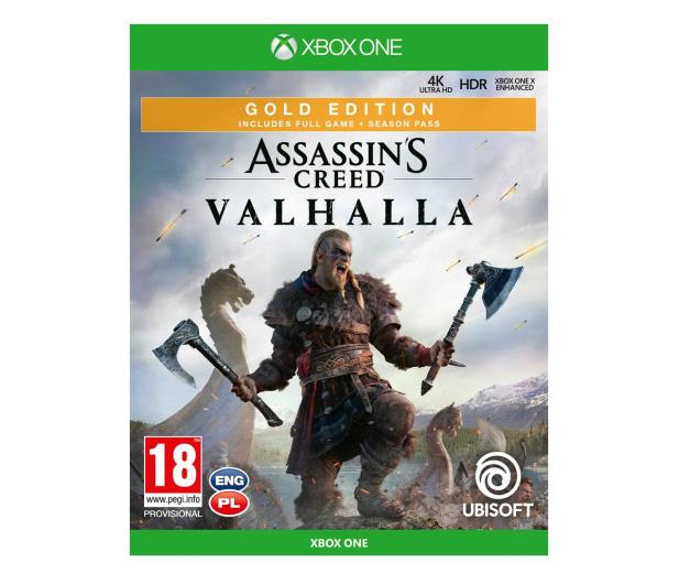 Xbox Assassin's Creed Valhalla Gold Edition - 564051 - zdjęcie