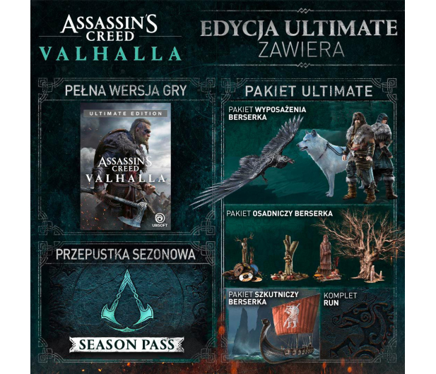 Xbox Assassin's Creed Valhalla Ultimate Edition - 564052 - zdjęcie 3