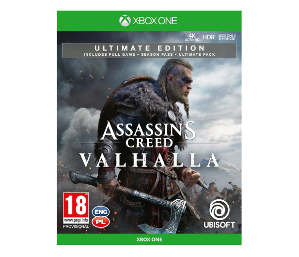 Xbox Assassin's Creed Valhalla Ultimate Edition - 564052 - zdjęcie