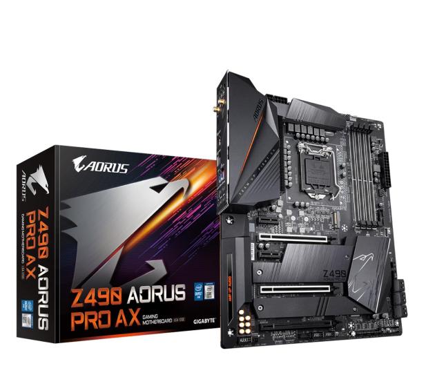 Gigabyte Z490 AORUS PRO AX - 564419 - zdjęcie