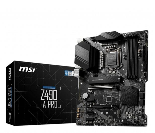 MSI Z490-A PRO - 542153 - zdjęcie