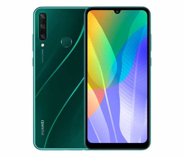 Huawei Y6p zielony - 563586 - zdjęcie