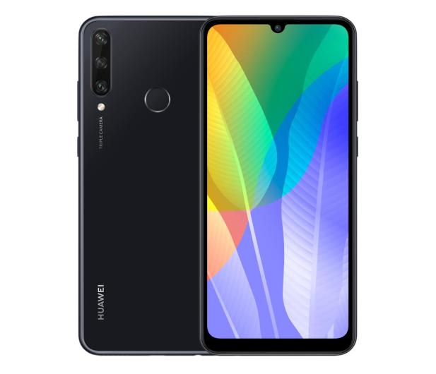Huawei Y6p czarny - 563582 - zdjęcie