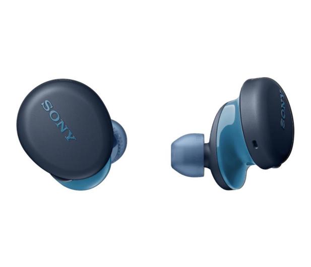 Sony WF-XB700L Niebieskie - 558062 - zdjęcie