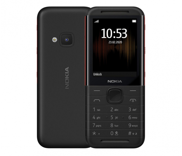 Nokia 5310 Dual SIM czarny - 564527 - zdjęcie