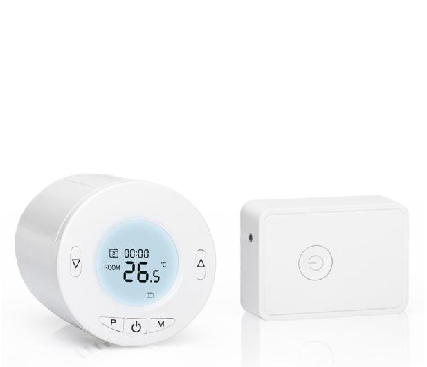 Meross MTS100H (głowica termostatyczna + przekaźnik) - 564968 - zdjęcie