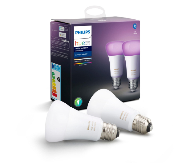 Philips Hue White and Color Ambiance (2szt. E27 9W ) - 436028 - zdjęcie 3