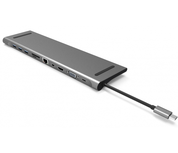 Silver Monkey USB-C - HDMI, USB, RJ-45, mini DP, SD - 568433 - zdjęcie 2