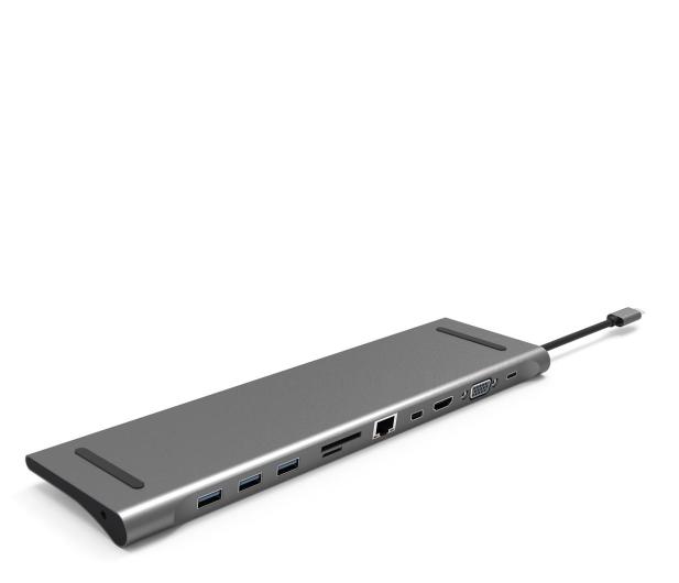 Silver Monkey USB-C - HDMI, USB, RJ-45, mini DP, SD - 568433 - zdjęcie