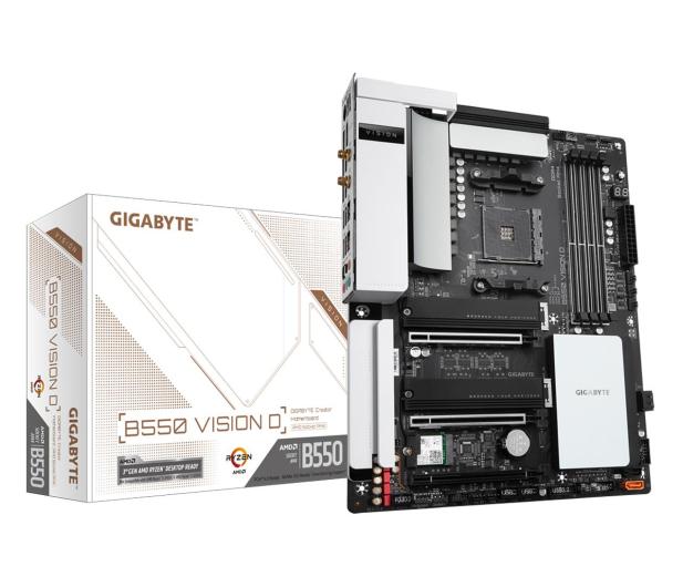 Gigabyte B550 VISION D - 573219 - zdjęcie