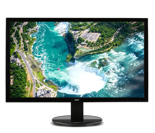 Acer K222HQLBID czarny - 204097 - zdjęcie