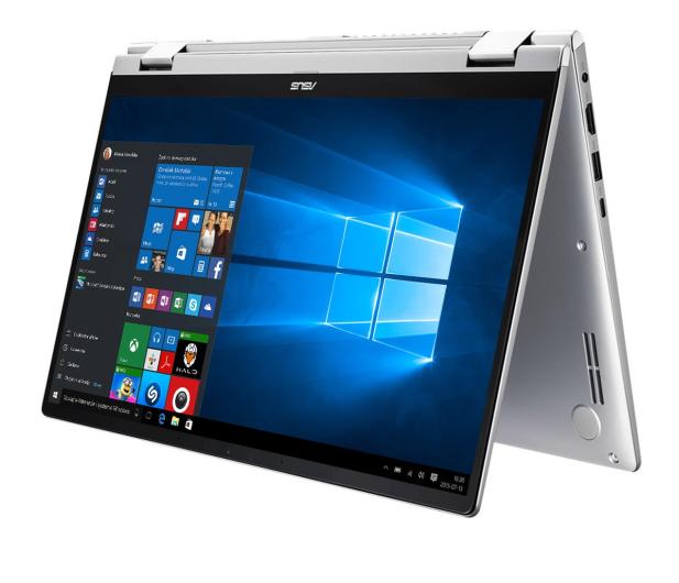 ASUS ZenBook Flip 14 UM462DA R5-3500U/16GB/512/W10 Grey - 570673 - zdjęcie