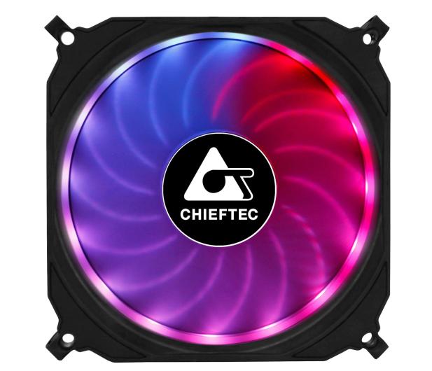 Chieftec Tornado RGB 3x120mm - 572372 - zdjęcie 2