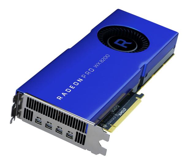 AMD Radeon Pro WX 8200 8GB HBM2 - 572611 - zdjęcie