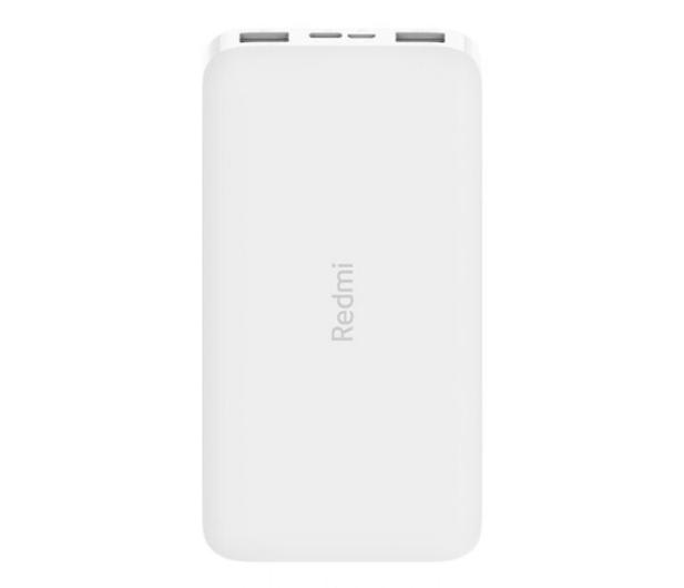Xiaomi Redmi Power Bank 10000mAh (Biały) - 572312 - zdjęcie