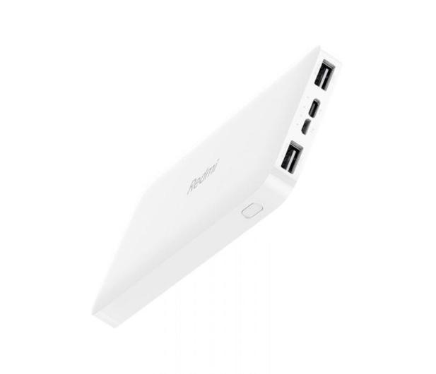 Xiaomi Redmi Power Bank 10000mAh (Biały) - 572312 - zdjęcie 2
