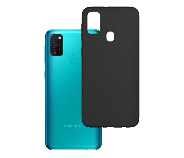 3mk Matt Case do Samsung Galaxy M21 czarny - 572709 - zdjęcie
