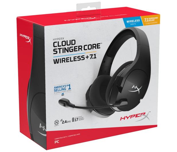 HyperX Cloud Stinger Core 7.1 Wireless - 572841 - zdjęcie 8