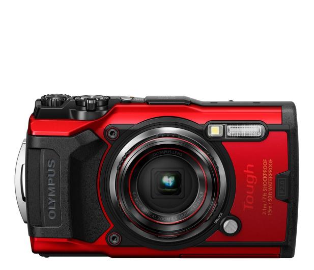 Olympus TG-6 czerwony  - 572673 - zdjęcie