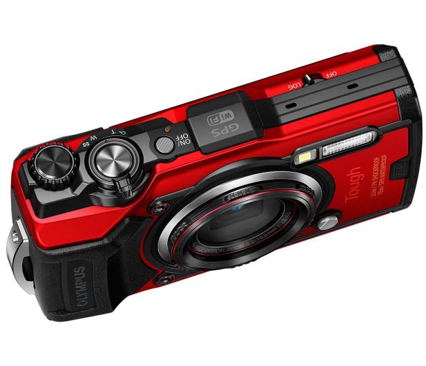 Olympus TG-6 czerwony  - 572673 - zdjęcie 6