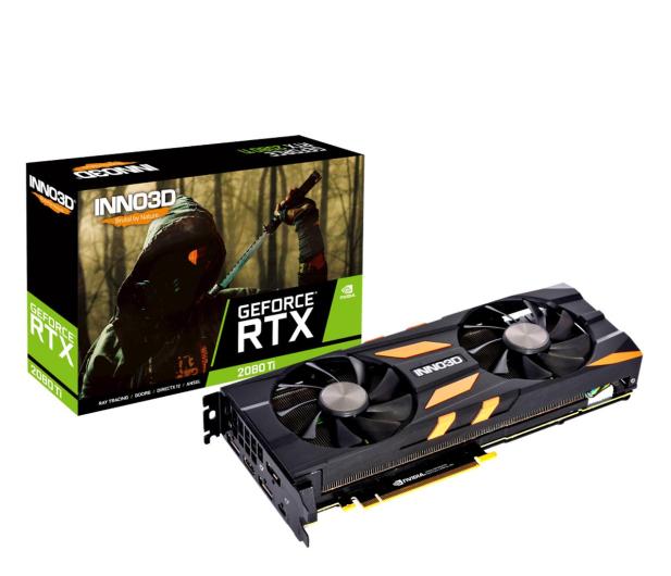 Inno3D GeForce RTX 2080 Ti Twin X2 11GB GDDR6 - 569575 - zdjęcie