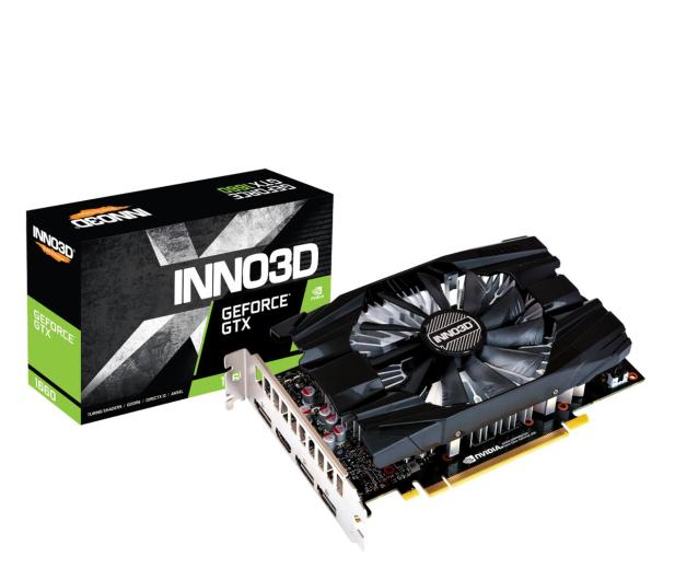 Inno3D GeForce GTX 1660 Compact X1 6GB GDDR5 - 569582 - zdjęcie