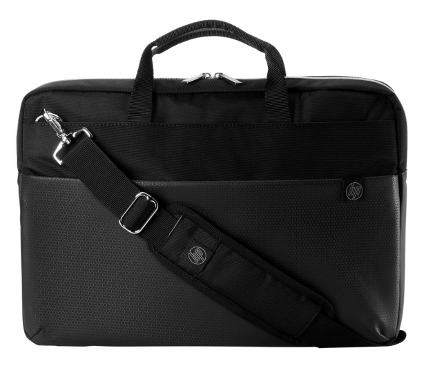 HP Pavilion Accent Briefcase Black/Silver - 573604 - zdjęcie