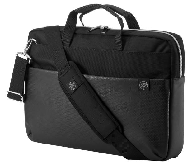 HP Pavilion Accent Briefcase Black/Silver - 573604 - zdjęcie 2