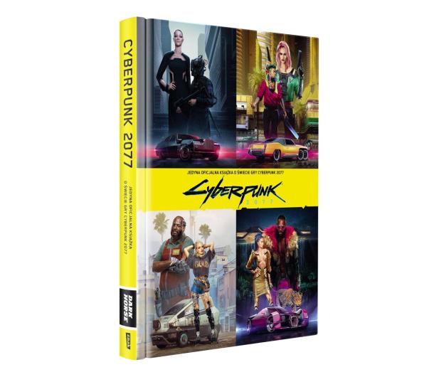 CENEGA Oficjalna książka o świecie gry Cyberpunk 2077 - 572397 - zdjęcie