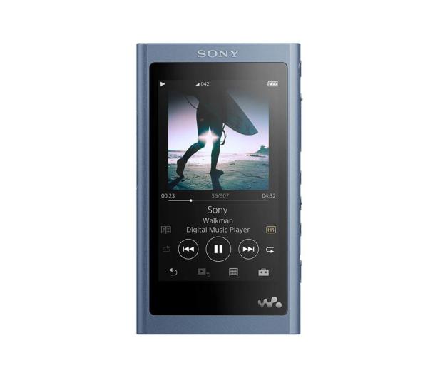 Sony NWA-55L Niebieski - 574966 - zdjęcie