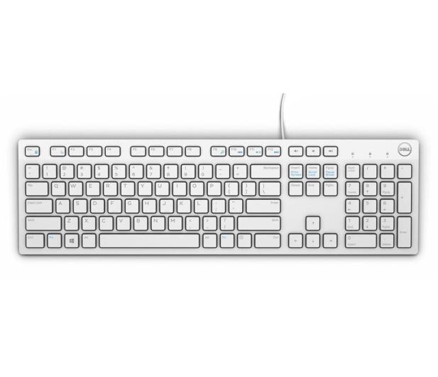 Dell KB216-B QuietKey USB (biała) - 573818 - zdjęcie