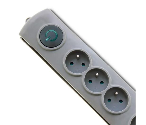 Qoltec Quick Switch - 4 gniazda, 2,5m - 462004 - zdjęcie 2