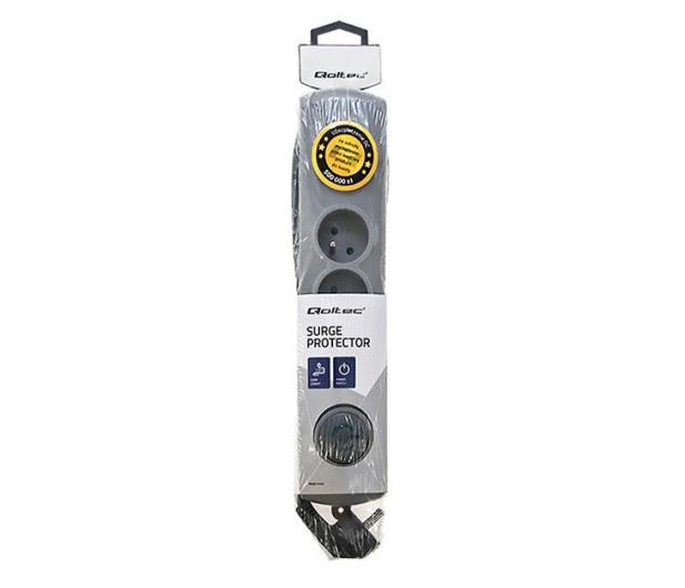 Qoltec Quick Switch - 4 gniazda 1,5m - 462003 - zdjęcie 4