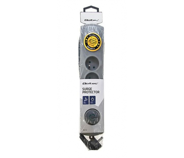 Qoltec Quick Switch - 4 gniazda, 2,5m - 462004 - zdjęcie 4