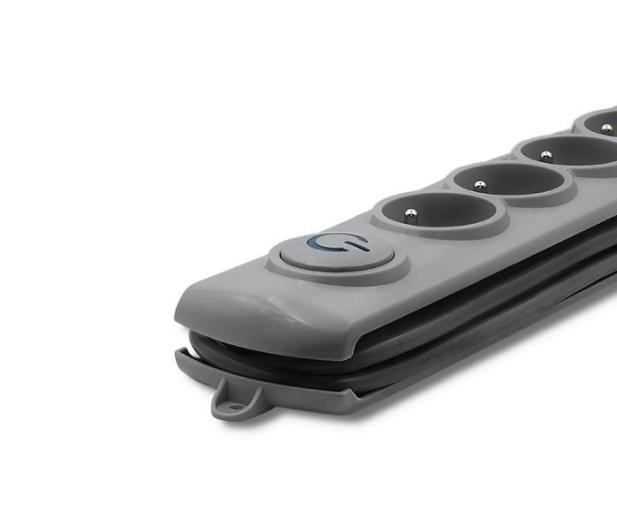 Qoltec Quick Switch - 6 gniazd, 3m - 462010 - zdjęcie 3