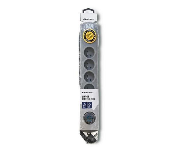 Qoltec Quick Switch - 6 gniazd, 3m - 462010 - zdjęcie 4