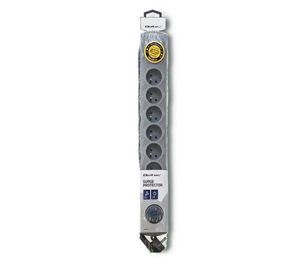 Qoltec Quick Switch - 8 gniazd, 1,8m - 462011 - zdjęcie 4