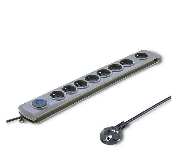 Qoltec Quick Switch - 8 gniazd, 3m - 462013 - zdjęcie