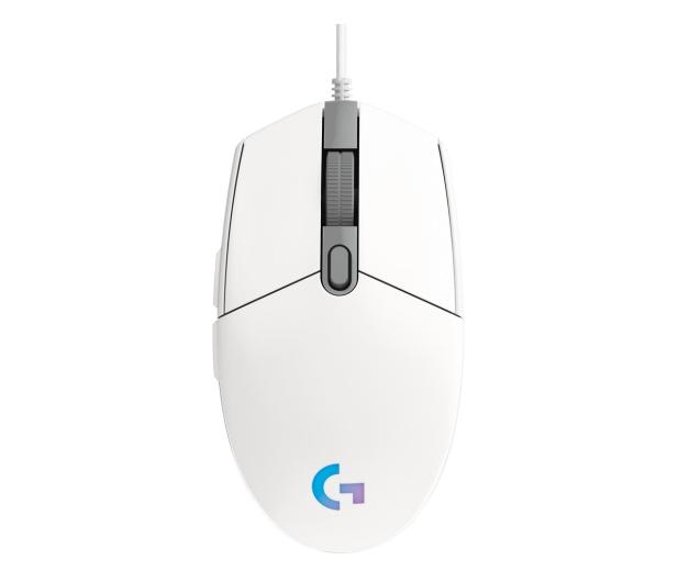 Logitech G102 LIGHTSYNC biała - 574601 - zdjęcie