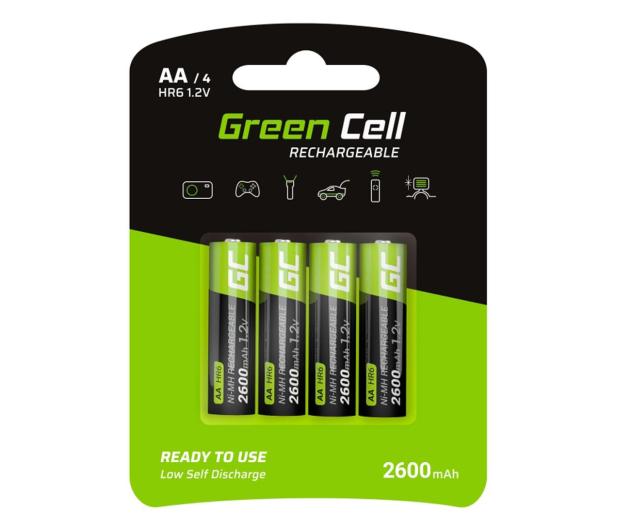 Green Cell 4x AA HR6 2600mAh - 573951 - zdjęcie